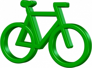 Outdoor Navigation beim Fahrrad Fahren