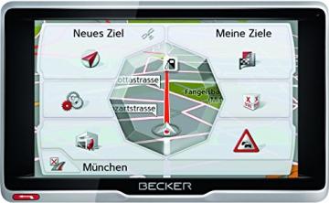 Becker Active 6 LMU Navi Routenübersicht