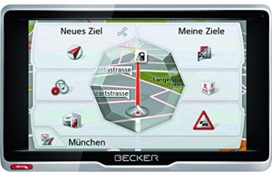 Becker transit.5 LMU Truck und Camper Navigationsgerät