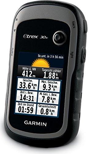 Garmin eTrx 20 GPS Navigation Menü und Wetter
