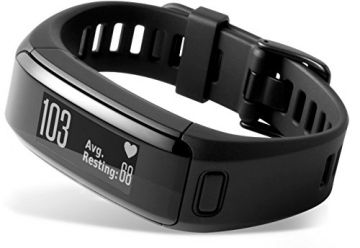 garmin Vivosmart HR Fitness Armband Menü