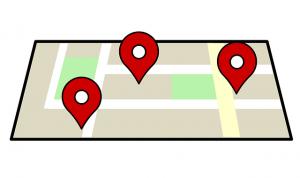 Google Maps für fahrrad Tour