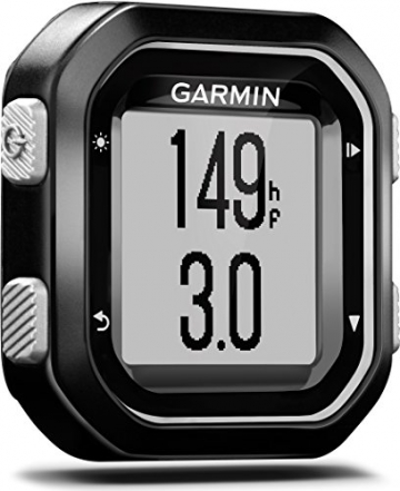 Garmin Edge 25 Menü