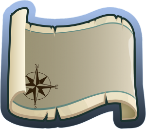 Navi-Karten beim Wandern
