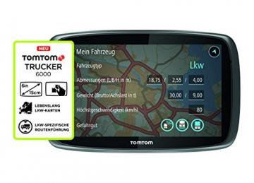 tomTom Trucker 6000 Features