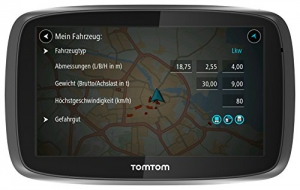 tomtom trucker 6000 lkw navigationsger t berblick gps. Black Bedroom Furniture Sets. Home Design Ideas