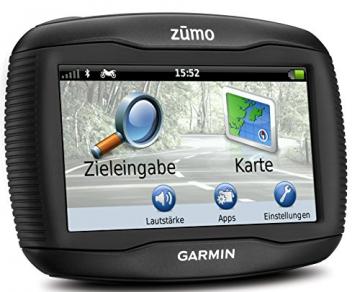 Garmin Zumo 390 Motorrad-Navigationsgerät Menü und Bedienung