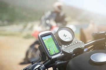 TomTom Rider 400 am Lenker montiert